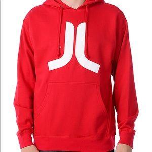 WESC red hoodie